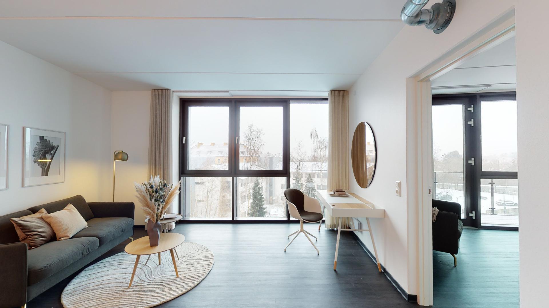2 værelses lejlighed med møbelpakke fra BoConcept